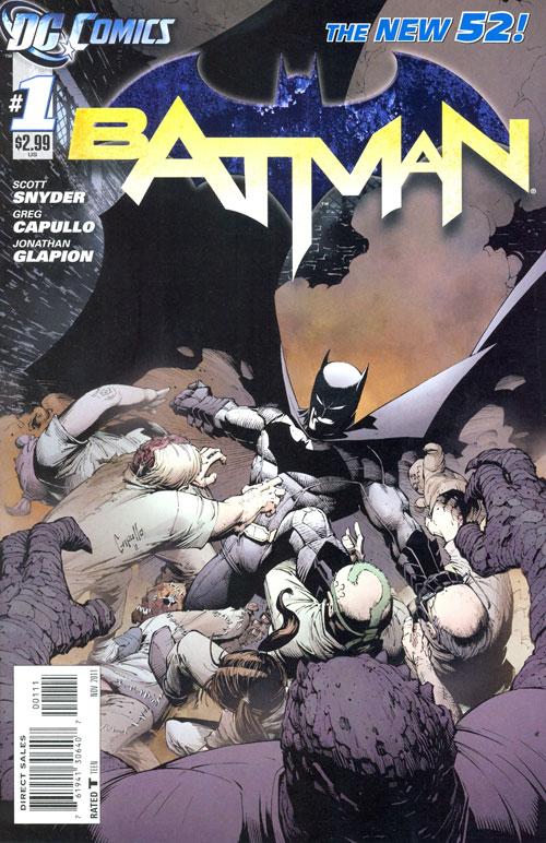 New 52-Batman#1 Cover
