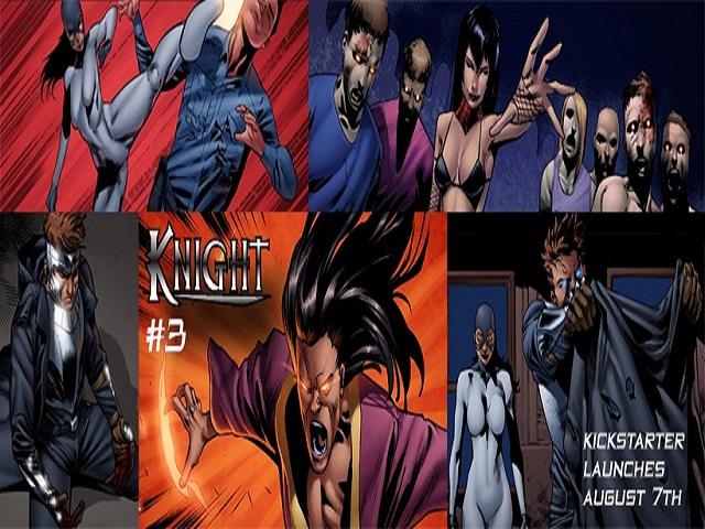 Knight #3 Kickstarter Preview