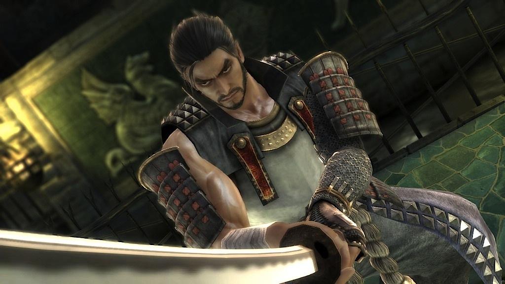 Mitsurugi, the grizzled samurai of Soul Calibur.