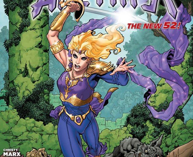 Sword of Sorcery #1 Cover by Aaron Lopresti