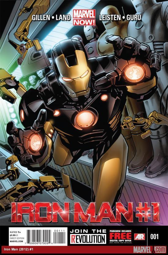 Iron Man's latest #1