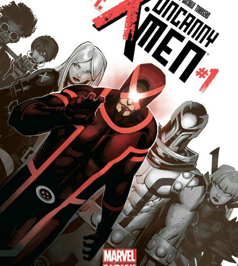 Uncanny X-Men V3 #1 Cover Art