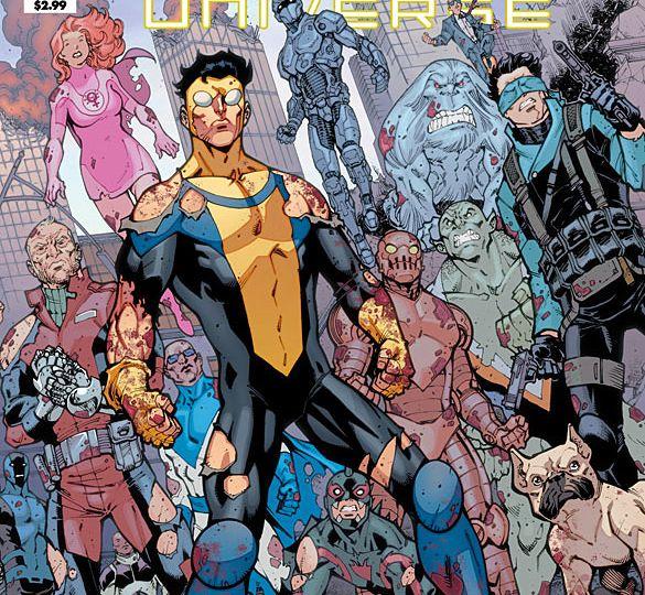 Invincible Universe #1 Cover
