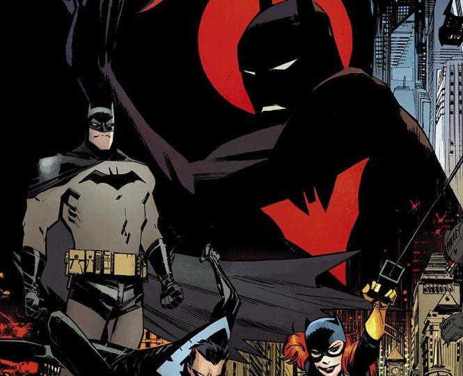 Batman Beyond Universe #1 Cover