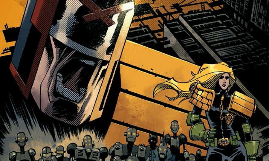 Judge Dredd #11 Cover